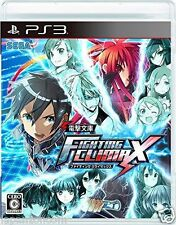 Used PS3 Dengeki Bunko FIGHTING CLIMAX PLAYSTATION 3 SONY JAPAN JAPANESE IMPORT