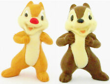 CHIP & DALE 2 Figure Set MICKEY MOUSE CLUBHOUSE DISNEY PVC TOY Cup Cake Topper!