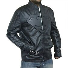 Superman Smallville , Man of Steel Jacket, Superman Black Emboss 'S', All sizes