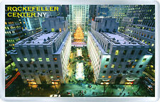 ROCKEFELLER CENTER NEW YORK FRIDGE MAGNET SOUVENIR NEW