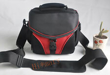 soft RED CAMERA BAG Case for Nikon D3100 D5100 D3200 D90 P520 L820 canon sony