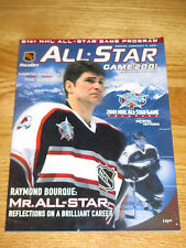 RAY BOURQUE Last ALL STAR Game Program for Colorado Avalanche