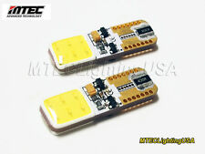 MTEC 7000K COB T10 W5W 194 168 LED Canbus No OBC Error Super Bright 520+ Lumen