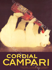Campari Cordial Metal Sign, Retro Bar, Pub, Den Decor, Alcohol,
