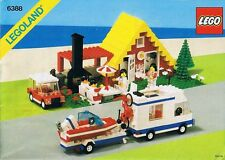 LEGO Town Holiday Home with Campervan (6388) (Vintage)