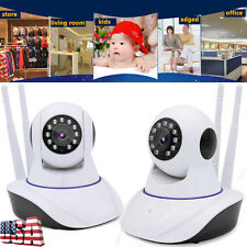 WIFI Wireless IP HD 720P Camera System Outdoor Security Pan Video Surveillance