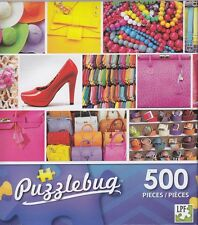 NEW Puzzlebug 500 Piece Puzzle ~ Fashion Fun ~ FREE SHIPPING