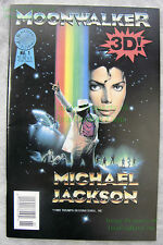 Michael Jackson MOONWALKER Comic #1 Blackthorne 3-D Series #75 EXCELLENT Copy