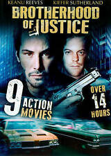 Brotherhood of Justice 9 Action Movies DVD Blackjack/Burning Daylight/Spenser