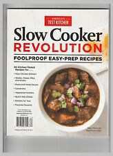 America's Test Kitchen: Slow Cooker Revolution NEW Slow Cooker Recipes