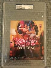 KATY PERRY signed auto PART OF ME DVD Cover PSA/DNA COA