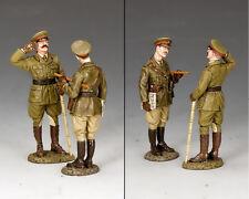KING AND COUNTRY WW1 Gen. Melchett & Capt. Darling from Blackadder FW228