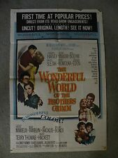 The Wonderful World of the Brothers Grimm Laurence Harvey Poster Movie #63/146