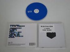 DIGITALISM/I LOVE YOU, DUDE(V2 RECORDS VVR769466/0602527694665) CD ALBUM