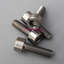 4pcs M6 x 18 mm Titanium Ti Screw Bolt Allen Hex Socket Cap Head Aerospace Grade