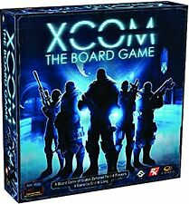 XCOM THE BOARD GAME by FANTASY FLIGHT GAMES - SAVE HUMANITY 1-4 PLAYERS AGE 14+