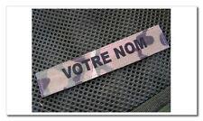 """Bande patronymique """" MULTICAM """" US AIRSOFT nominette PATRO velcro PAINT BALL"""