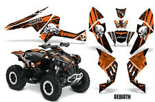 SIKSPAK CanAm Renegade500/800/1000 Graphic Kit Wrap Quad Decal ATV All REBIRTH O