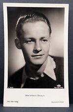 Hermann Braun - AK - Foto Postkarte - Photo Postcard ( Lot 5561