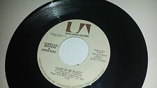 CORNELIUS BROTHERS & SISTER ROSE: Over At My Place / Treat Her Like UA 6772 45