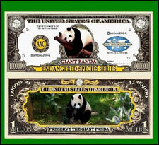 USA 1 Million Dollar Banknote 'Giant Panda' - Endangered Species Series - UNC