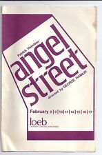 1968 HARVARD DRAMA CLUB Angel Street PATRICK HAMILTON Loeb Drama Center