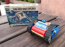 1960's TURN-OVER SPACE EXPLORER GAMMA-8 & ORIGINAL BOX JAPAN BATTERY OPERATED