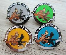 4 x Tintin / Tim und Struppi Piin / Pins: 4 x THE ADVENTURES OF TIN TIN - Selten