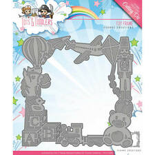 Yvonne Creations Tots & Toddlers TOY FRAME Cutting & Embossing Die