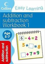 Addition and Subtraction Workbook 1: Age 5-7 (Collins Easy Learning Age 5-7), Co