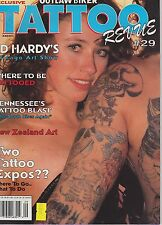 #29 TATTOO REVUE vintage magazine (UNREAD)
