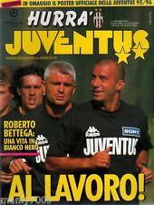 HURRA JUVENTUS=N°8 1995=BETTEGA=PLATINI=PADOVANO=1962 REAL MADRID=FANNA