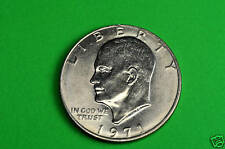 1971-P  Brilliant Uncirculated Eisenhower US One Dollar Coin
