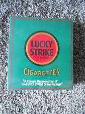 VINTAGE 70TH ANNIVERSARY LUCKY STRIKE CIGARETTE PACK IN DISPLAY CONTAINER