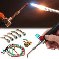 Mini Fer A Souder De Précision A Gaz Chaleur Avec 5x Torche Bout Interchangeable
