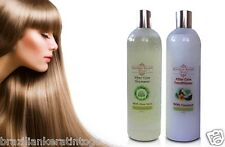 BRAZILIAN KERATIN HAIR TREATMENT POST SHAMPOO 400ml +CONDITIONER 400ml SALT FREE
