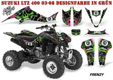 Amr racing decoración Graphic kit ATV suzuki ltz & Kawasaki KFX Frenzy B