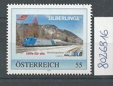 """Österreich PM personalisierte Marke Eisenbahn """"Berchtesgadener Landbahn"""" **"""