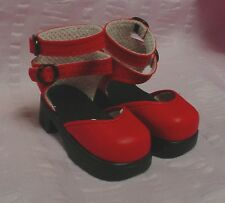 Doll Shoes 63mm Calendar Girl RED fit Kaye Wiggs Layla, MSD others