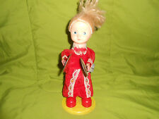 Antique  Moving Toy Doll Automated Playing Symbols Wind Up WORKING  UNIQUE PIECE