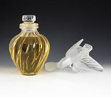 "Lalique Nina Ricci L'air du Temps Large DISPLAY Flacon Bottle SEALED 12"" tall"