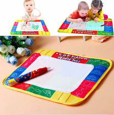 Gift Drawing Mat 2016 Painting Magic Pen Board Water Doodle Toy Writing Kids