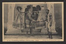Jaipur – A Walking Mendicant vintage postcard India