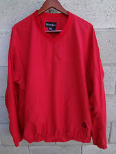 **LOOK AT THIS AWESOME** FOOTJOY MEN SWEATER  V-NECK SIZE LARGE L  RED EUC