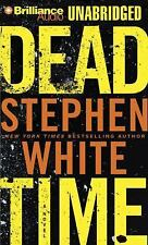 DEAD TIME unabridged audio book on CD by STEPHEN WHITE