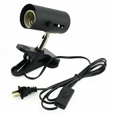 Aquarium Reptile Light Holder Clamp Ceramic Infrared Emitter Heat Lamp Stand FE