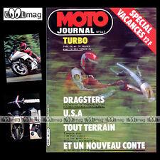 MOTO JOURNAL N°567 ★ YAMAHA XJ 650 TURBO ★ XS 1100 PUCH ROTAX MERLIN DG 350 1982