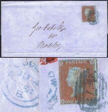 1841 1d Rojo eh finas en azul 479 Ludlow Cat. £ 750
