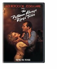 THE POSTMAN ALWAYS RINGS TWICE (1981) -  DVD - REGION 1 - Sealed