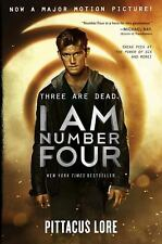 Lorien Legacies: I Am Number Four 1 by Pittacus Lore (2011, Hardcover, Movie Ti